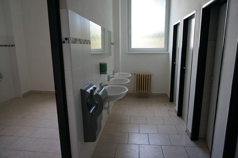 Nové toalety SSŠVT