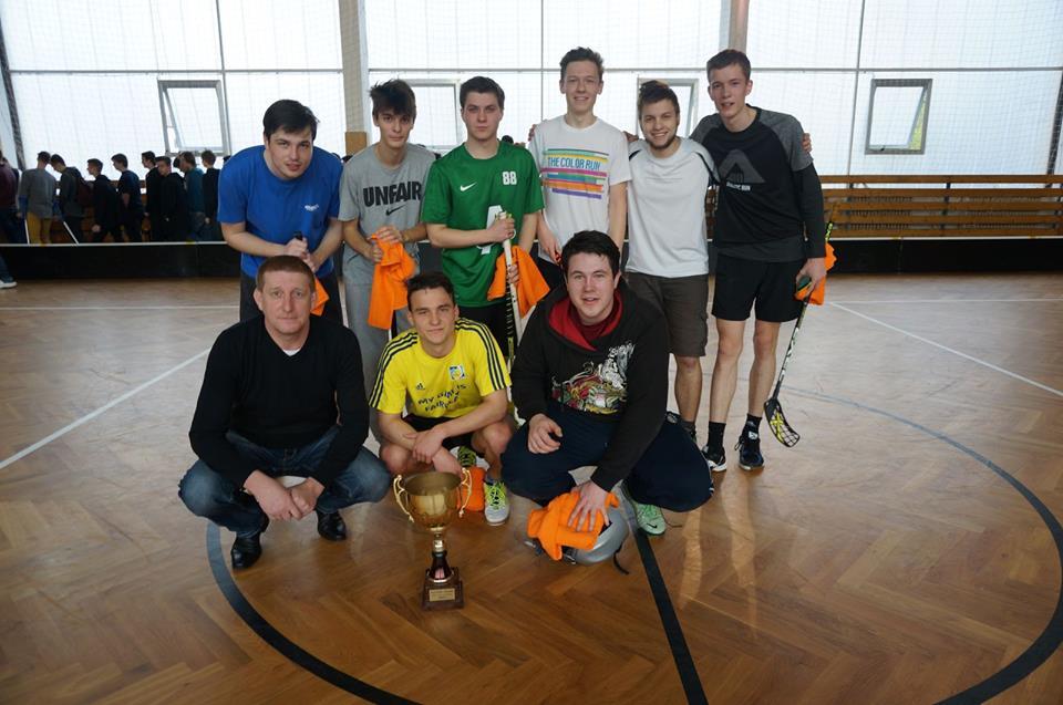 Společné foto vítězů