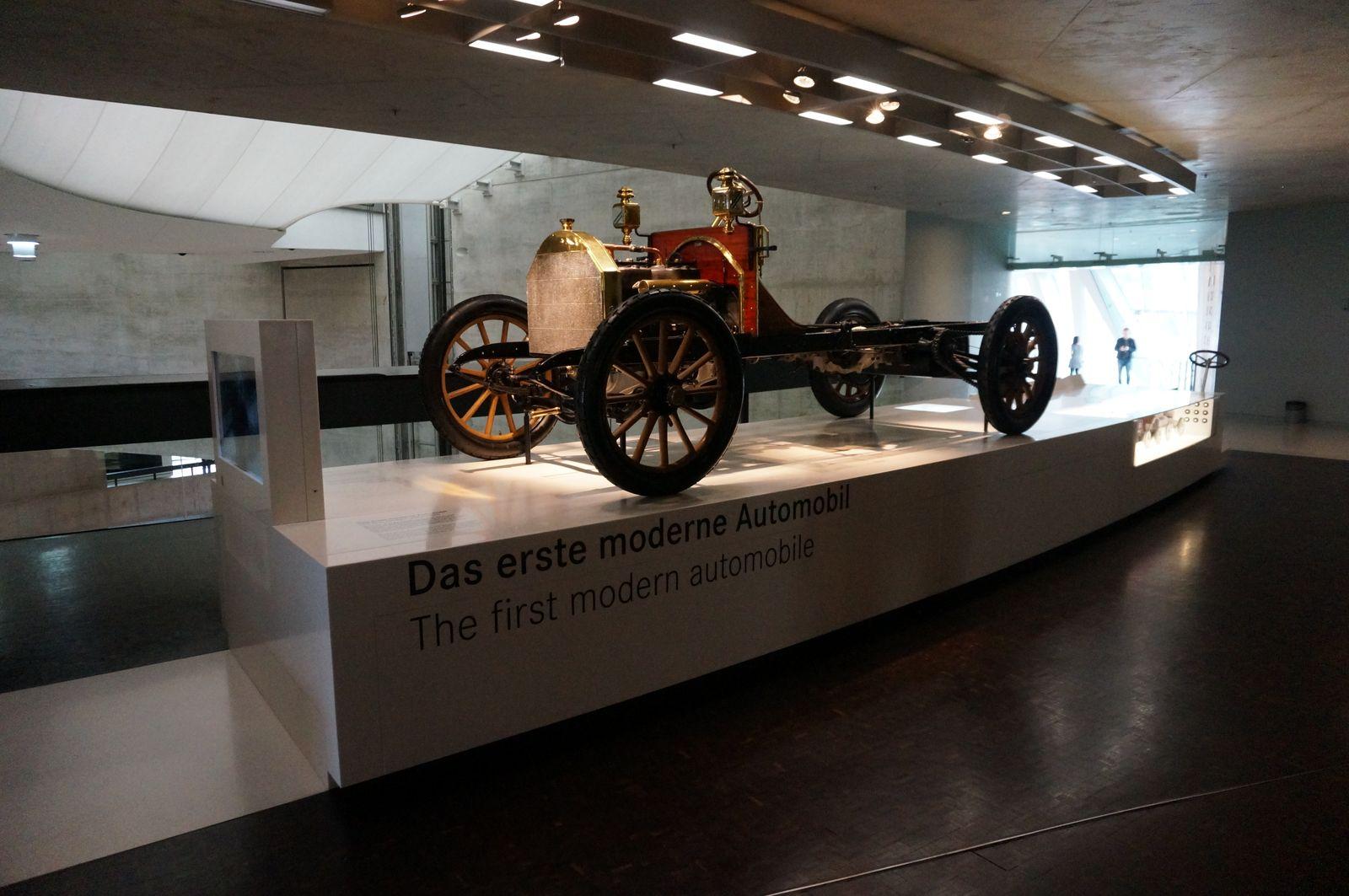 Muzeum automobilky Mercedes