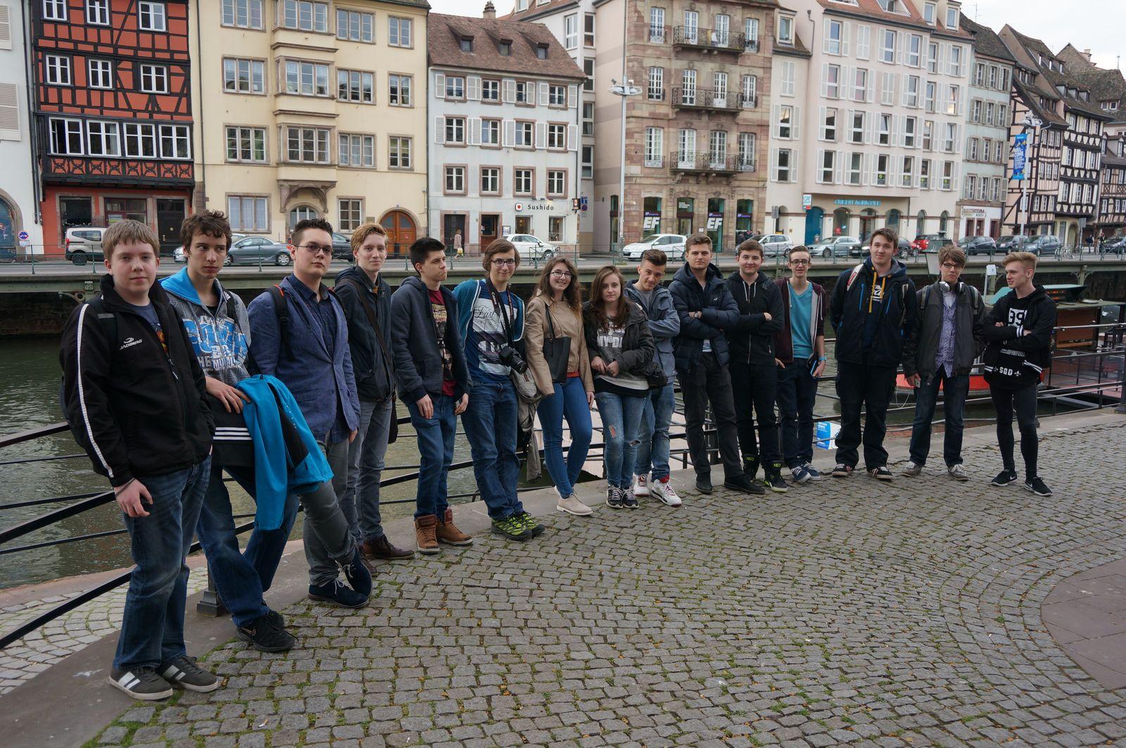 Společné foto ve Štrasburku