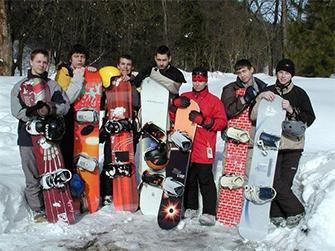Lyžařský a snowboardingový zájezd SSŠVT